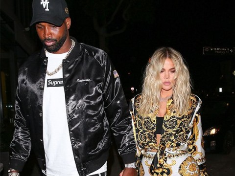 Khloe Kardashian and Tristan Thompson enjoy romantic date as Gemma Collins 'claims' her designer outfit