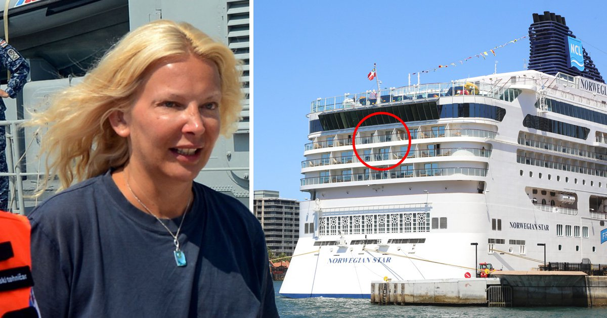 Ex-wife of man cruise 'jumper' was arguing with says 'I'd have jumped too'