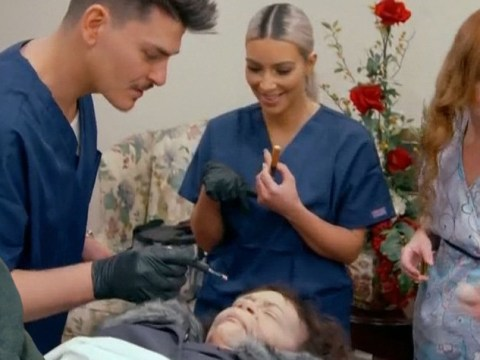 Kim Kardashian does makeup for 'dead body' in morgue after claiming to be 'obsessed with death'