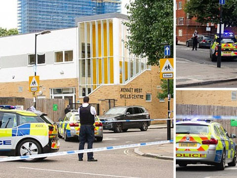 Armed police shut down school in west London after 'gunshots fired'