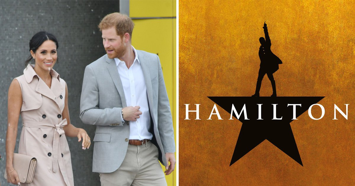 Turns out Harry and Meghan are massive Hamilton fans too as the pair prepare to see show later this month