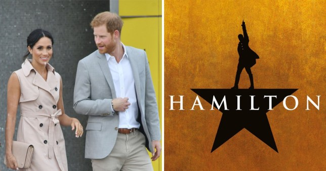 Harry and Meghan to go see Hamilton