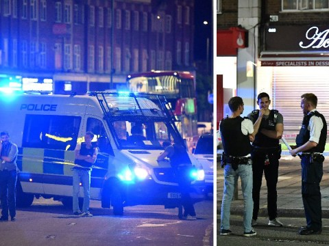 Three people shot outside Tube station in north London