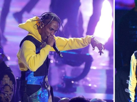 Travis Scott throws shade at Nicki Minaj and pays tribute to Aretha Franklin during MTV VMAs 2018