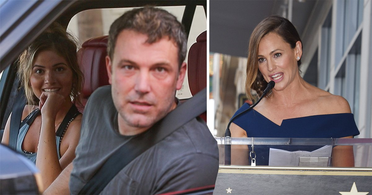 Ben Affleck grabs bite to eat with Playboy model Shauna Sexton as he skips ex-wife Jennifer Garner's Walk of Fame ceremony