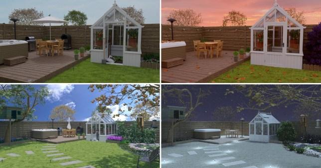 The UK's ideal garden