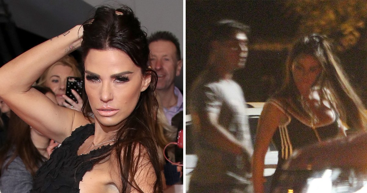 Katie Price seen holding hands with mystery man after revealing plans to move in with boyfriend Kris Boyson