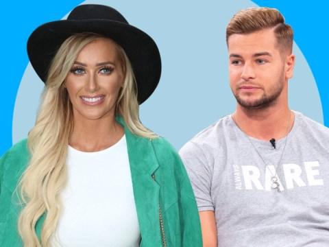 Love Island's Chris Hughes admits he has his eye on Laura Anderson