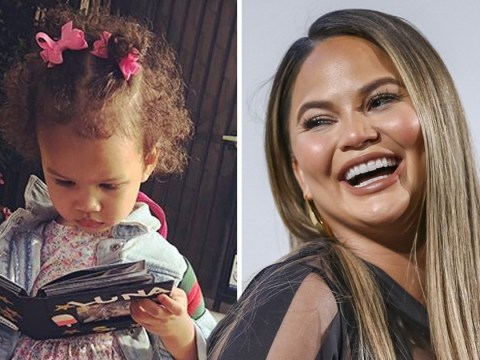 Chrissy Teigen's daughter Luna confessing to pushing over a boy in school is the cutest thing