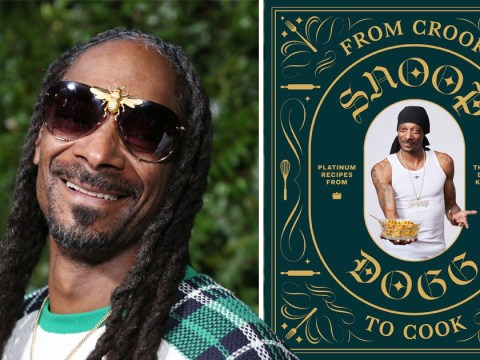 Snoop Dogg is publishing his own cookbook that will 'satisfy those munchies'