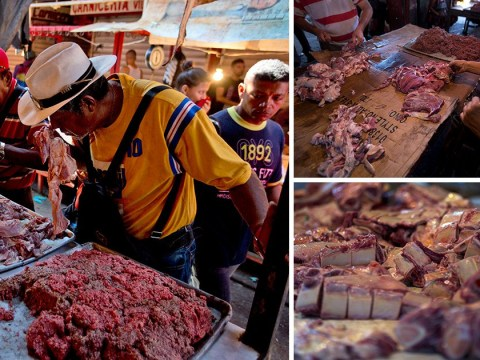 People forced to eat rotting meat as Venezuela economic crisis gets worse