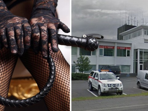 Kinky rescuer invites a 'whole city' to bondage party with his team's Facebook