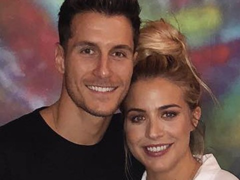 Strictly's Gorka Marquez can't help but respond to girlfriend Gemma Atkinson's cheeky boob comments