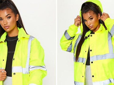 People are making fun of PrettyLittleThing for selling a hi-vis jacket for £45
