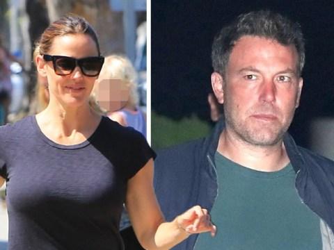 Jennifer Garner puts on a brave face as she runs errands after taking ex Ben Affleck to rehab