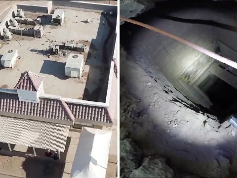 Mexican drug-smuggling tunnel found under abandoned KFC store