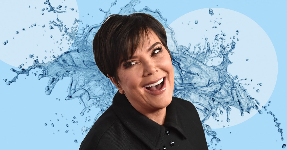 Kris Jenner is adamant someone is 'poisoning her water supply' and we're living for the extra