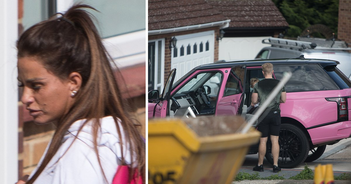 Katie Price 'moves into toyboy Kris Boyson's house part-time' as her financial woes roll on