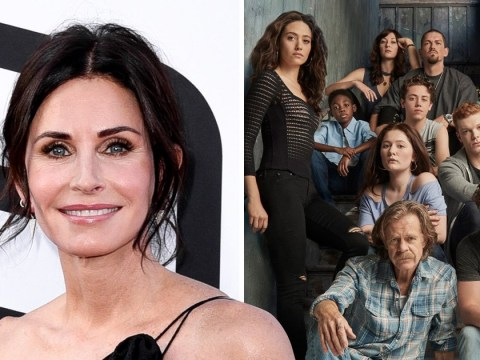 Courteney Cox's new character in Shameless couldn't be further from Monica in Friends