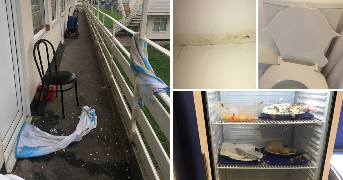 Human faeces, vomit and cigarette butts found in Pontins holiday park