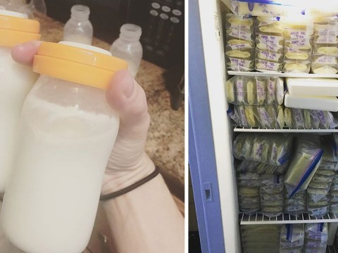 Mum who produces more breast milk than average donates 1,000 pints to other babies