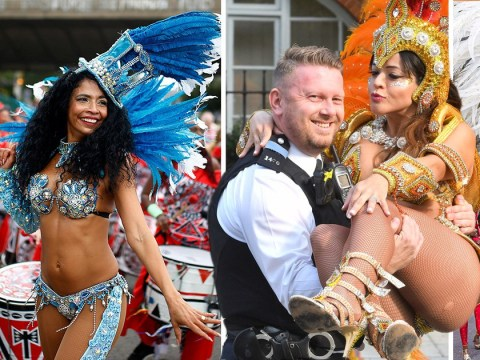 Notting Hill Carnival pictures show day two has got off to a very colourful start