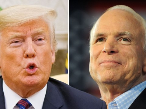 Donald Trump finally pays tribute to John McCain and lowers White House flag again