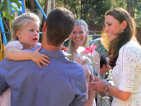 Girl who made Kate giggle when she tried to steal her flowers dies age 9