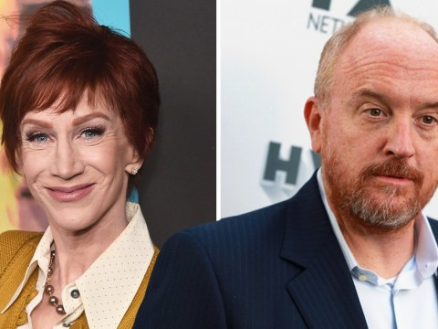 'He just went on a long vacation': Kathy Griffin hits out at Louis CK after he makes return to comedy