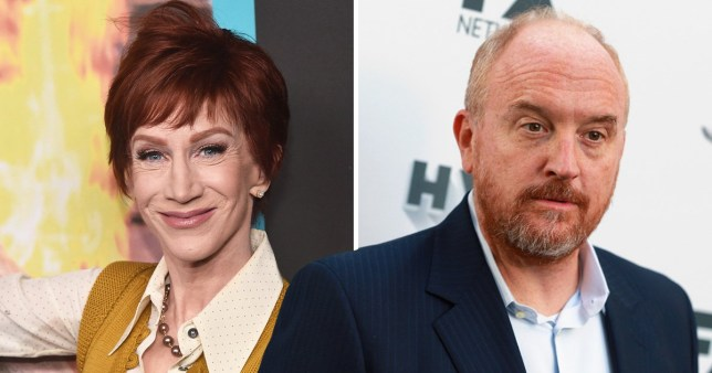 Kathy Griffin and Louis CK