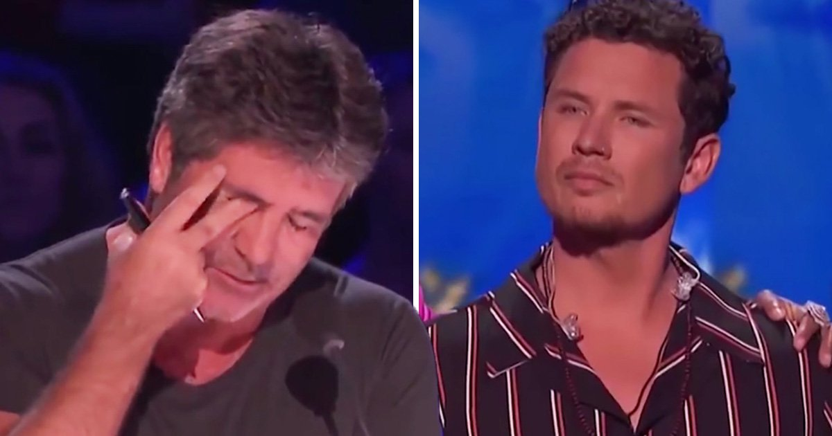 America's Got Talent: Simon Cowell unable to talk as he tears up over Michael Ketterer's heartbreaking performance