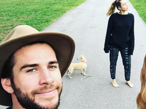 Liam Hemsworth proves he's well and truly still with Miley Cyrus