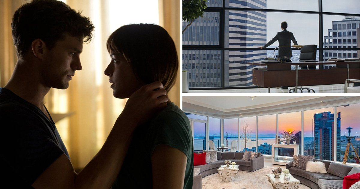Christian Grey's Fifty Shades 'Seattle penthouse' goes on sale for $11.5m