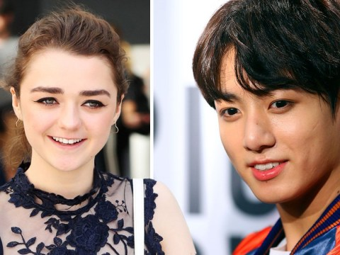 Maisie Williams reveals she 'stans BTS for life' – and Jungkook is her bias
