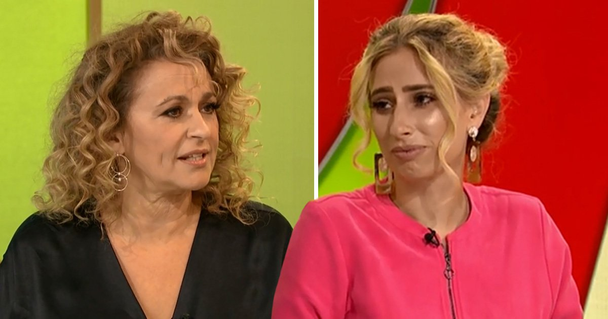 'It's sinister' Loose Women rally around Stacey Solomon after she's branded 'desperate and cheap'