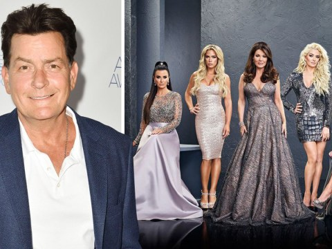 Is Charlie Sheen about to join the Real Housewives of Beverly Hills?