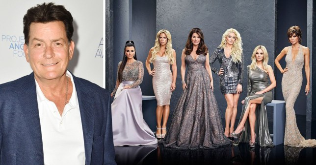 Charlie Sheen to join Real Housewives?