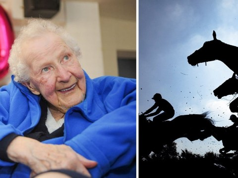100-year-old woman says secret to long life is putting a £1 bet on the horses every day