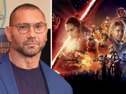 Dave Bautista repeatedly turned down for a role in Star Wars