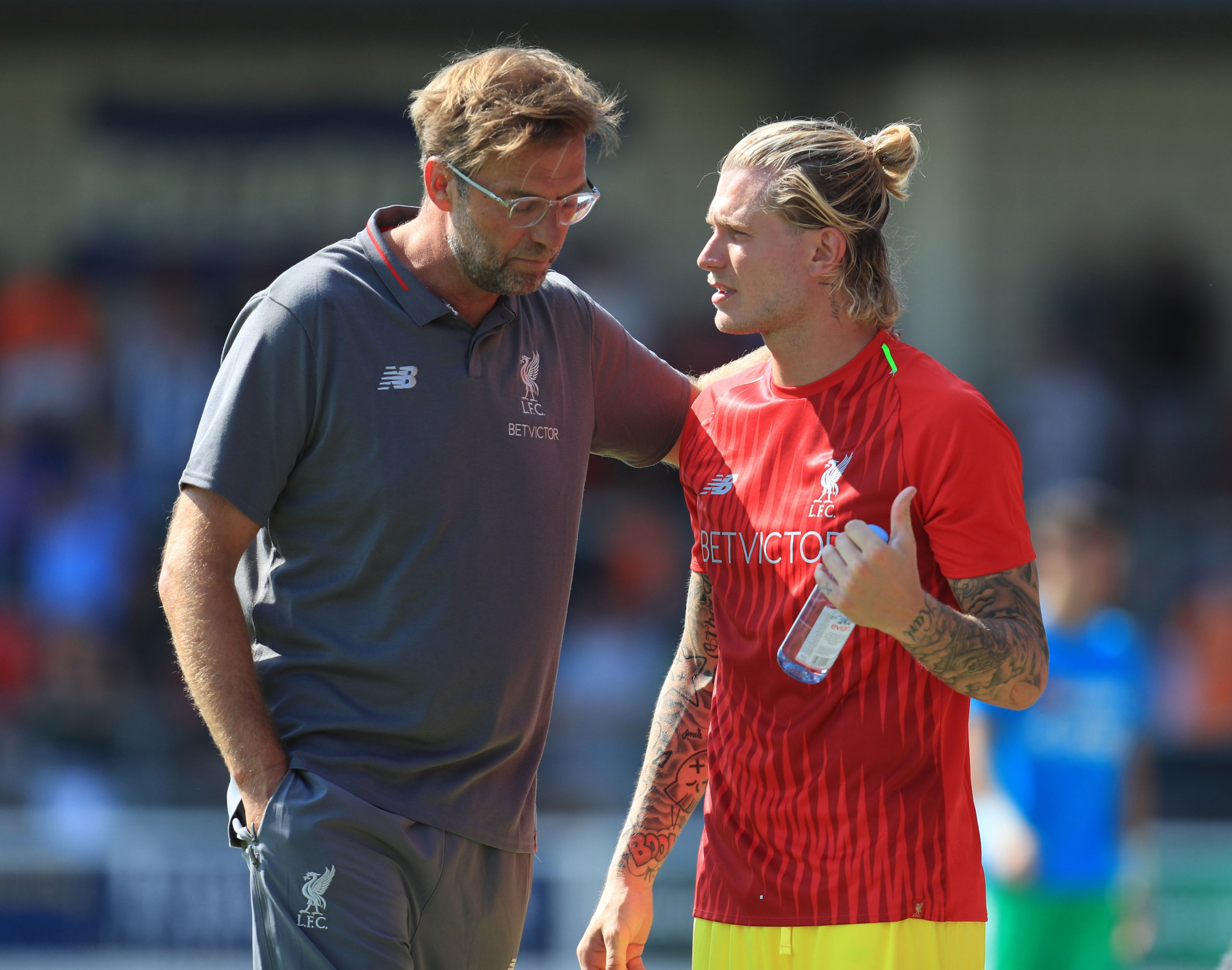 Loris Karius reveals what Jurgen Klopp told him before his Liverpool exit