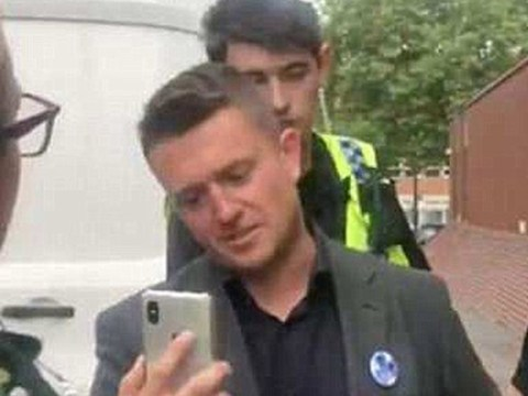 Instagram reactivates Tommy Robinson's account after removing it 'in error'