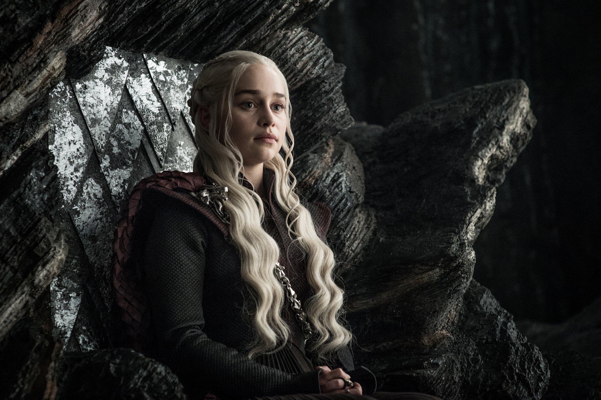Television programme : Game of thrones. Emilia Clarke as Daenerys