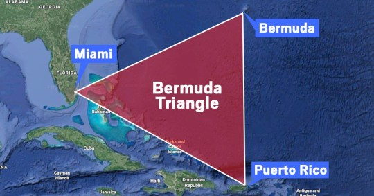 Mystery of the Bermuda Triangle solved? \'Rogue wave\' theory revealed ...