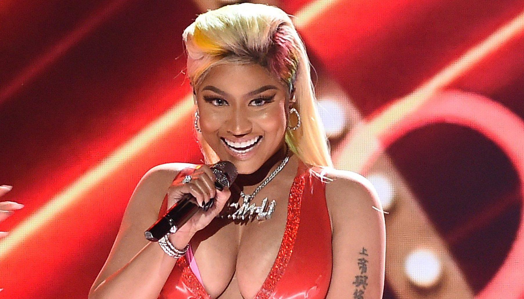Mandatory Credit: Photo by Frank Micelotta/PictureGroup/REX/Shutterstock (9726415bm) Nicki Minaj BET Awards, Show, Los Angeles, USA - 24 Jun 2018