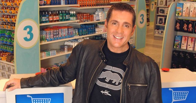 Editorial Use Only / No Merchandising Mandatory Credit: Photo by FremantleMedia Ltd/REX/Shutterstock (854604kv) 'Dales Supermarket Sweep' - Dale Winton Thames TV Archive
