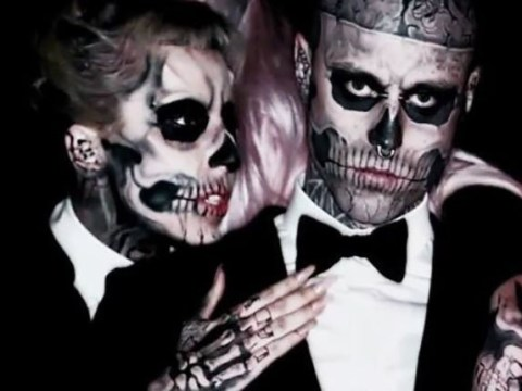 Lady Gaga suggests Rick Genest's cause of death in tweet but police have not confirmed