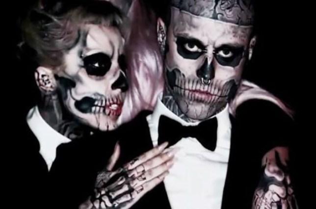 Lady Gaga and Zombie Boy https://twitter.com/ladygaga/status/1025171911138004992