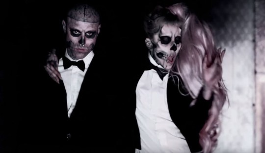 Rick Genest in Silent Witness and Lady Gaga's Born This Way