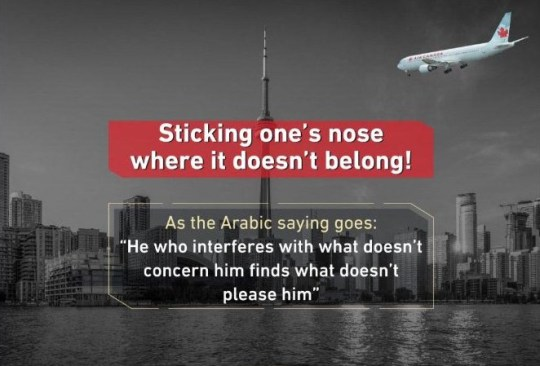 Saudi Arabia appears to threaten Canada with 9/11 style attack after expelling its ambassador in row over jailed activists.