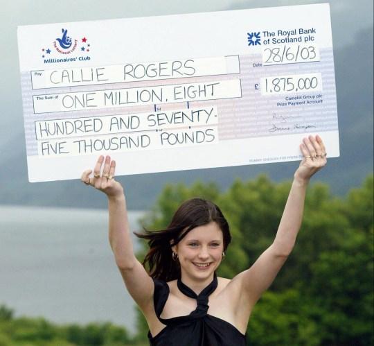 Lottery winner regrets not saving her millions for disabled son